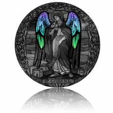 2 oz Silbermünze Erzengel Gabriel - Antik Finish (2020)