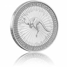 1 oz Silber Austr. Känguru Perth Mint 999.9/1000 Silber (2020)