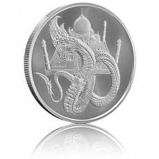 1 Unze Silber The Indian - World of Dragons 5. Motiv Golden State Mint