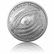 1 Unze Silber The Indian - World of Dragons 5. Motiv Golden State Mint
