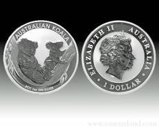 Austral. Koala 10 Unzen 999/1000 Silber 2011