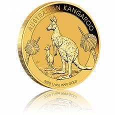 Australien Känguru 1/4 Unze Goldmünze (2020)