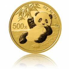 China Panda 30 gramm Gold (2020)