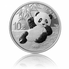 China Panda 30 gramm Silber (2020)