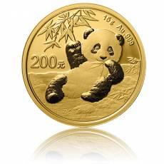 China Panda 15 gramm Gold (2020)