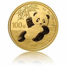 China Panda 8 gramm Gold (2020)