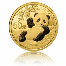 China Panda 3 gramm Gold (2020)