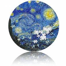 Silbermünze 3 oz Sternenhimmel Starry Nigth Van Gogh Micropuzzle 1. Ausgabe PP 2019