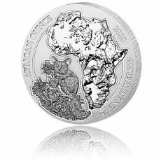 1 Unze Silbermünze 999/1000 Ruanda Bushbaby 2020