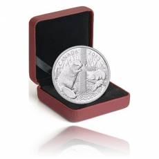 50 CAD Biber 5oz Silber PP (2013)