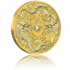 1 Unze Goldmünze Australien Perth Mint Dragon & Dragon Dopppeldrache (2020)