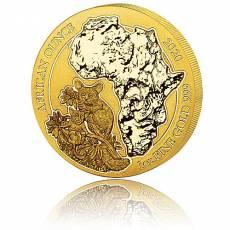 1 Unze Goldmünze Ruanda Bushbaby 2020