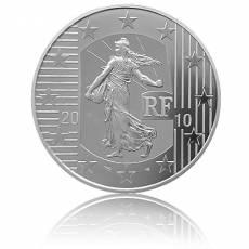 10 Euro Silber Frankreich Säerin - Neuer Franken Polierte Platte in F15 Kapsel (2010)