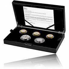United Kingdom - 11,50 Pound - Silber Sondernsatz Proof Piedfort Coin Set 2020