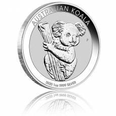 Australischer Koala 1 Unze Silber (2020)