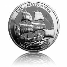 Silbermünze 1 oz 400th Anniversary Mayflower 2020