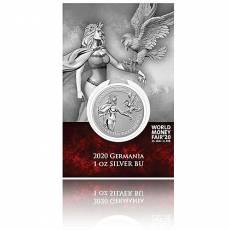 Silbermünze 1 oz Germania - WMF Spezial im Blister 5 Mark (2020) 2. Ausgabe