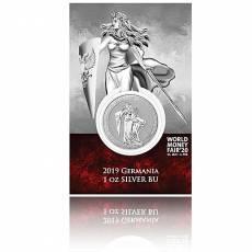Silbermünze 1 oz Germania WMF Spezial Blister 5 Mark (2019) 1. Ausgabe