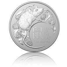 Silbermünze 1 oz Australien RAM Lunar Maus 2020
