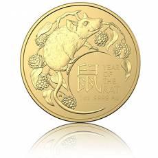 Goldmünze 1 oz Australien RAM Lunar Maus 2020