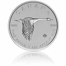 Silbermünze 2 oz Kanadische Gans 2020
