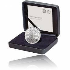 Britannia 1 Unze Silber Polierte Platte (2020)