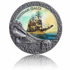 Silbermünze 2 oz Shipwrecks in History Whydah Gally 2019