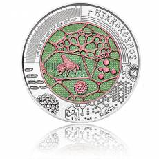 Silbermünze 25 Euro Niob Faszination Technik - Der Mikrokosmos Österreich 2017