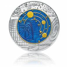 Silbermünze 25 Euro Niob Faszination Technik - Kosmologie Österreich 2015