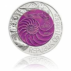 Silbermünze 25 Euro Niob Faszination Technik - Bionik Österreich 2012