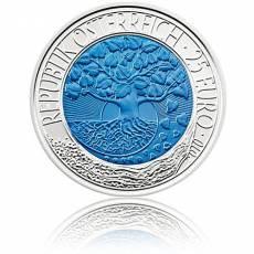 Silbermünze 25 Euro Niob Faszination Technik - Erneuerbare Energien Österreich 2010