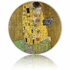 Silbermünze 3 oz Gustav Klimt's legendary masterpiece The Kiss Micropuzzle 2. Ausgabe PP 2020