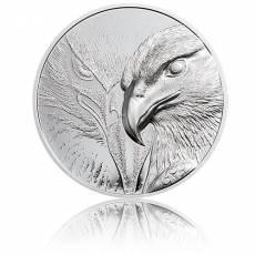 Silbermünze 3 oz Majestic Eagle Polierte Platte 2020