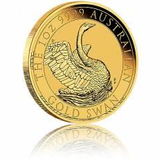 1 Unze Goldmünze Australien Schwan (2020)