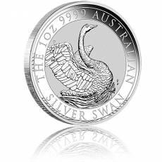 1 Unze Silbermünze Australien Schwan (2020)