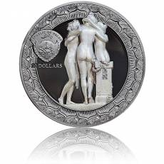 Silbermünze 2 oz Eternal Sculptures Die drei Grazien Proof 2020