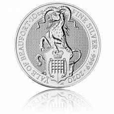 10 Unzen Silbermünze Queens Beasts Yale 2020