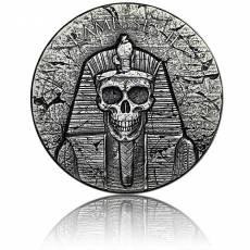 2 oz Silbermünze Republic of Tschad Ramses II nach dem Leben (2017)