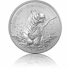 Silbermünze 1 oz Sumatra-Tiger 2020 1. Ausgabe Zoo-Serie