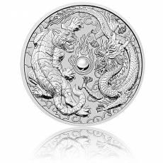 10 oz Silbermünze Australien Perth Mint Dragon & Tiger (2020)