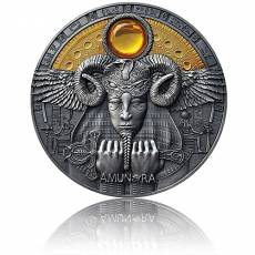 3 oz Silbermünze Amun Ra - Face of the Sun (2020) 1. Ausgabe