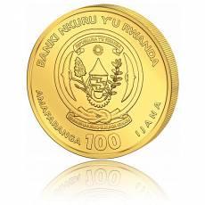 1 Unze Goldmünze Ruanda Nautical Ounce Mayflower 2020