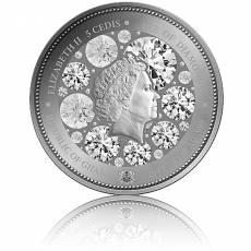 Silbermünze 1 Unze Das Auge der Diamanten 2020