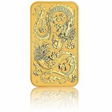 1 oz Goldmünze Perth Mint - Rectangular Dragon 2020