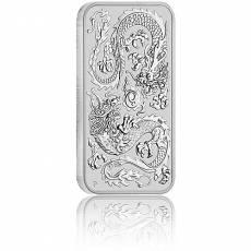 1 oz Silbermünze Perth Mint Rectangular Dragon 2020