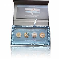 Silber 4 x 1 oz Prestige-Set Springbock 2015