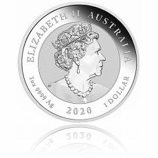 1 oz Silber Australien Perth Mint Doppel-Pixiu (2020)