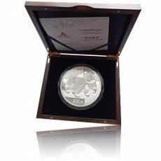 Silbermünze 1 kg China Panda Polierte Platte 2008