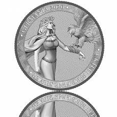 Silbermünze 1 kg Germania 80 Mark (2020) 1. Ausgabe