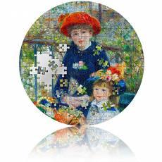 Silbermünze 3 oz Two Sisters - Renoir Micropuzzle PP 2020